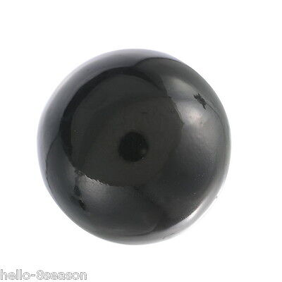 3PC Charm Round Mexican Bead Lucky Music Caller Ball Black 16mm