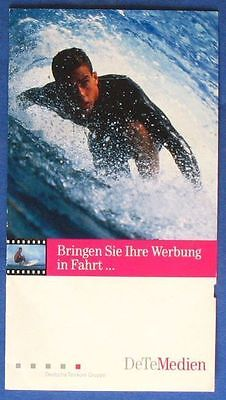 I044) Folder CallingCard MotionCard Surfer CC034 6DM mint/**