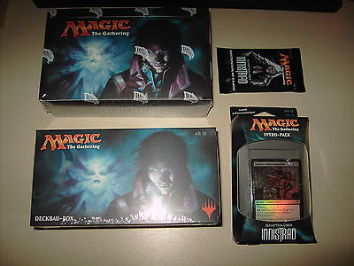 SCHATTEN ÜBER INNISTRAD - Booster, Display, Intro Pack, Deckbaubox in DEUTSCH !!