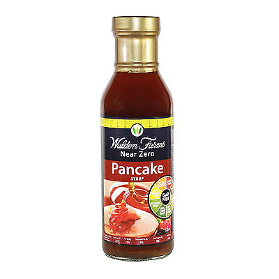 WALDEN FARMS NEAR ZERO CALORIE PANCAKE SYRUP 355ml (DAIRY FREE-GUILT FREE)