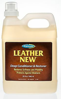 Leather New Deep Conditioner and Restorer, 32oz