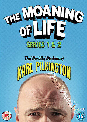 The Moaning of Life (Series 1 & 2) NEW PAL Cult 4-DVD Set Karl Pilkington