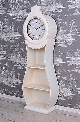 Wall Clock Sweden Mora Watch Incl. Shelf Grandfather Country House Style