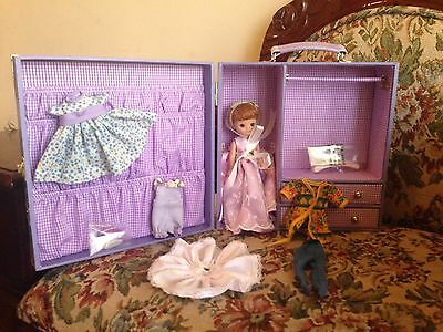 Tonner TINY BETSY MCCALL LILACS & LACE TRUNK SET Fashion Outfits Wardrobe + Doll