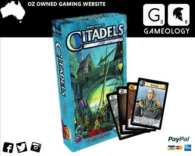 Citadels Card Game (Includes The Dark City Expansion)
