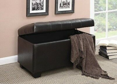 Coaster Storage Ottoman Chocolate- 500948 OTTOMAN NEW - Coaster STORAGE OTTOMAN- 300283 Ottoman NEW • $135.45 - PicClick