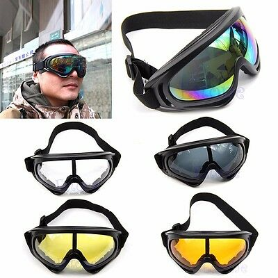 Snowboard Dustproof Sunglasses Motorcycle Ski UV Goggles Eye Glasses Eyewear New