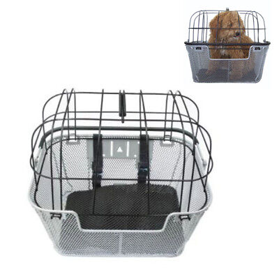 Pet Bike Fixed Front Basket - Great for your dog or cat to go riding