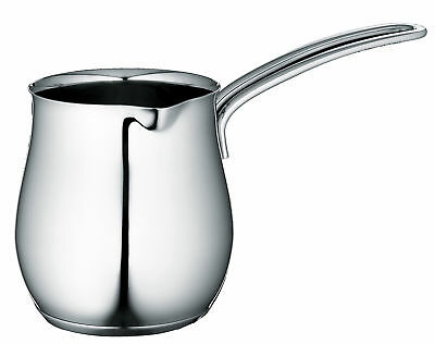 Cilio Stainless Steel Turkish Coffee Pot Mini Saucepan Induction Safe 350ml New