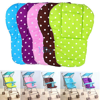 Baby Trolley Stroller Pram Pushchair Soft Seat Padding Dot Liner Pad Cushion Mat