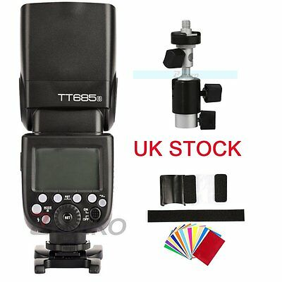 UK Godox TT685S 2.4G HSS 1/8000s TTL II GN60 Camera Flash Speedlite for Sony