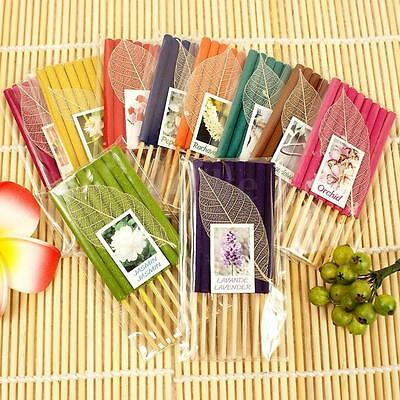 1 Pack (7pcs) 3'' Sticks Fresh Hand Dipped Scents Incense Thai Diffuser Aroma
