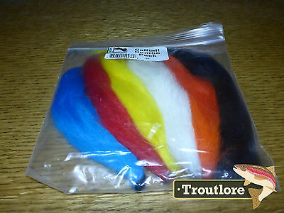 Hareline Dubbin Calftail Combo Pack Kip / Calf Tails - New Fly Tying Materials
