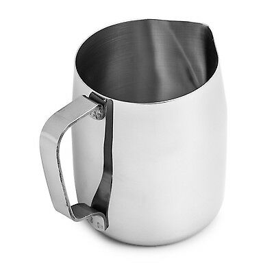 Chef's Star Stainless Steel Frothing Pitcher 12 Ounce
