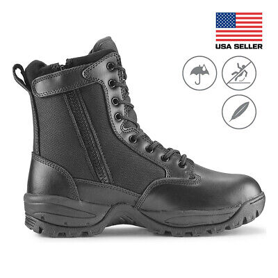 Maelstrom® TAC FORCE Men's 8'' Military Tactical Work Boots with Zipper