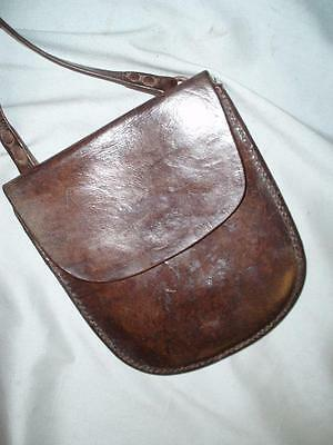 ENGLISH LEATHER TRADE BOYS MONEY BAG.( JACK TOWER Ltd of BRITOL.)