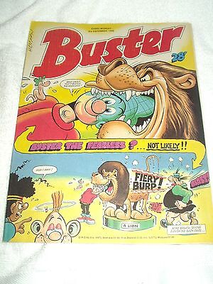 UK Comic Buster 3rd December 1988