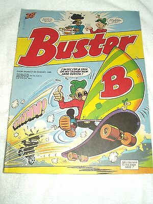 UK Comic Buster 6th August 1988