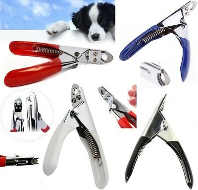 Stainless Steel Dog Cat Pet Nail Toe Claw Clippers Trimmers Scissors Cutter