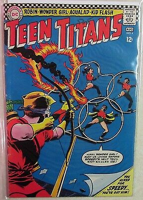 DC Comics - Teen Titans Issue #4  Silver Age Comic 1960s - Priced Under Guide