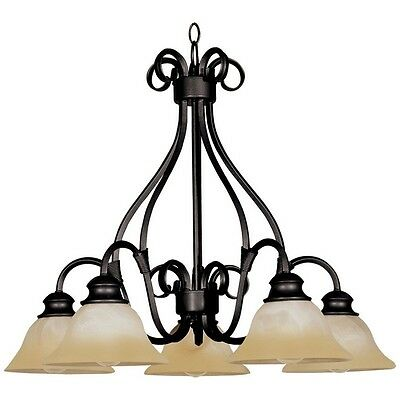 Maxim Lighting 2657WSKB Pacific-Down Light Chandelier