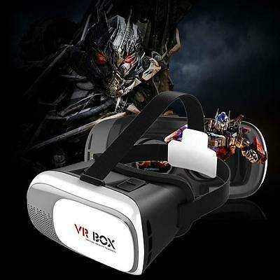 VR BOX 2.0 Version Virtual Reality 3D Glasses as your private 3D Cinema White WT