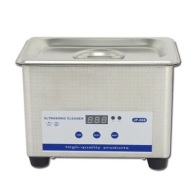 0.8L Professional Digital Ultrasonic Cleaner Machine with Timer Heated Cleaning