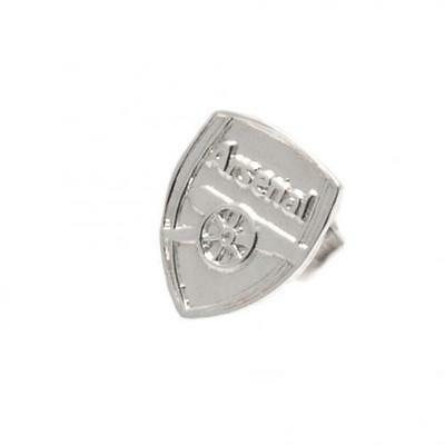 Official Licensed Football Product Arsenal Sterling Silver Stud Earring New