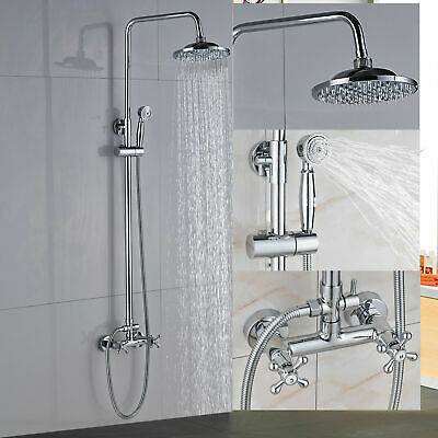 Wall Mounted Chrome Stainless Steel Bathroom Accessories Shelf Holder Storage