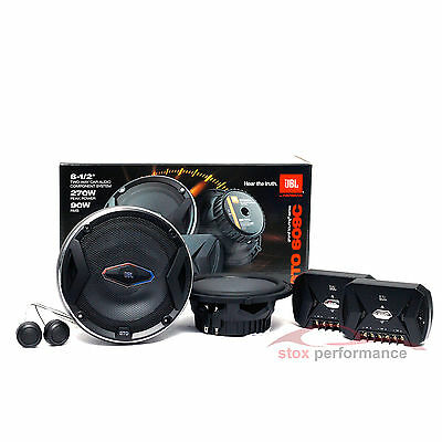 "NEW JBL GTO-609C 6.5"" 2-Way 270 Watt GTO Series Component Car Audio Speaker"