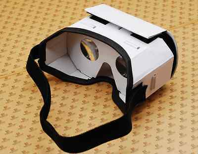 DIY 3D Google VR Viewer Virtual Reality Glasses Cardboard for Smart Phone