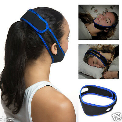 Stop Snoring Chin Strap Jaw Belt Anti Snore Solution Device Apnea TMJ Support