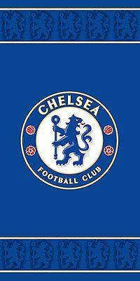 Chelsea Football FC Blue Border Beach Bath Towel