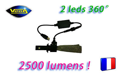 Kit VEGA® G5 FULL LED 1 Ampoule H1 360° Couleur Xénon 6000K Plug&Play