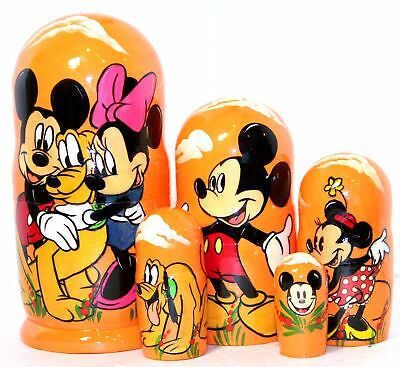Nesting doll Mickey Mouse