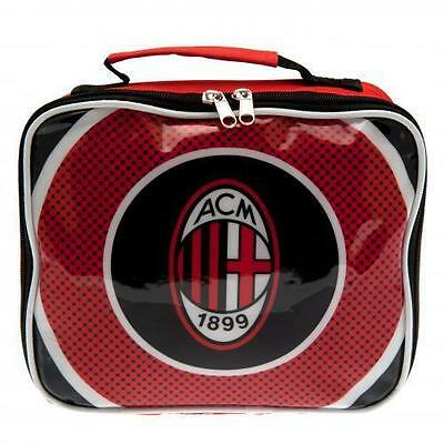 AC Milan FC Lunch Bag - Bullseye Design Official Football Gift