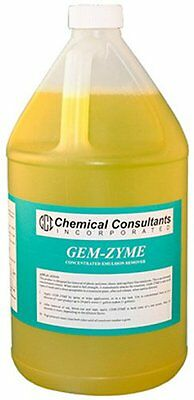 CCI GEM-ZYME stencil/emulsion remover concentrate.  1 Gallon