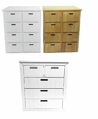 Assembled 5 or 8 Chest of Draws Livingroom Hallway Storage Cabinet