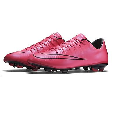 Nike Mercurial Vapor X Fg Soccer Cleats Youth Size Us 6Y Hyper Pink 651620-660