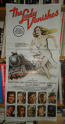 HAMMER/ THE LADY VANISHES/CYBILL SHEPHERD//australy  poster