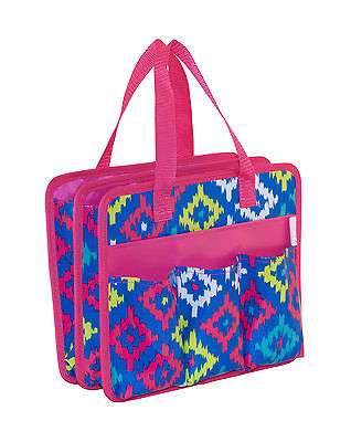 NEW | Everything Mary | EVM9944-1 Ikat Even Print Tag Along Tote | 30½x15¼x25½cm