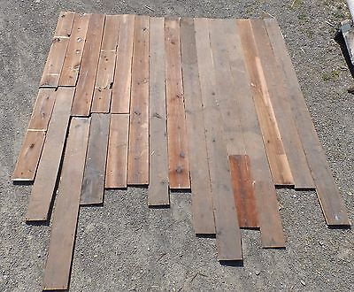 Genuine Antique Wide Plank Barn Siding Shiplap 100 sq ft Old Vintage 509-16
