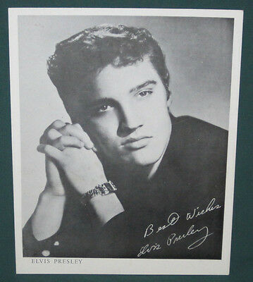 Elvis Presley EPE Publicity Profile Photo 1956 Mail In