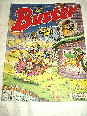 UK Comic Buster 19th March 1988