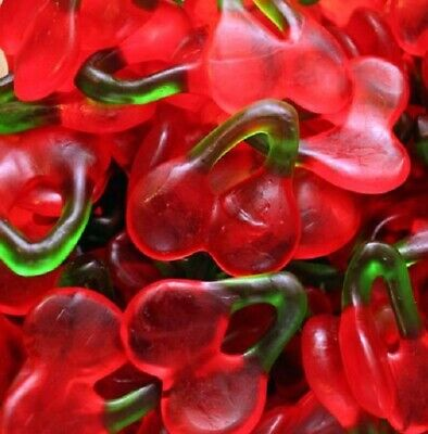 Haribo Happy Cherries Cherry Sweets Jelly Gums Choose Weight 100g - 3kg Bags