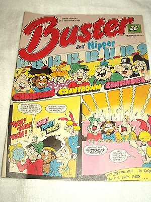 UK Comic Buster and Nipper 19th December 1987