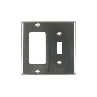 SUNLITE Steel Switch/Toggle Decorative Plate