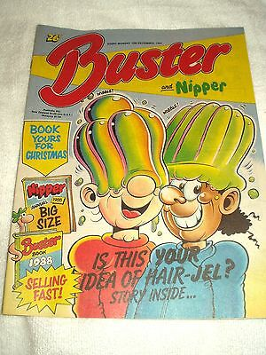 UK Comic Buster and Nipper 12th December 1987