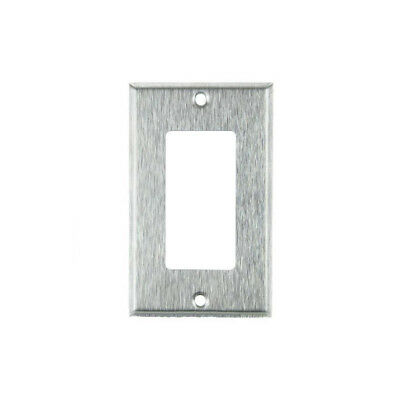 SUNLITE 1 Gang Decorative Plate Steel Color E301S
