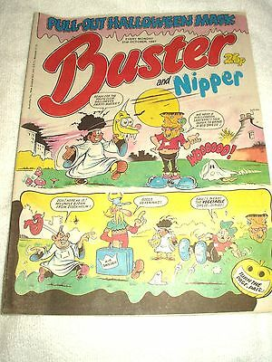 UK Comic Buster and Nipper 31st October 1987